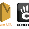 Send Email Using Amazon SES  on concrete5